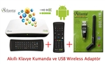 Atlanta HD Box Smart+ wifiusb + akıllı kumanda + klavye