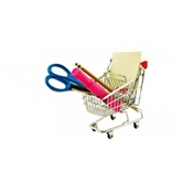 SHOPPİNG CART PEN HOLDER ALIŞVERİŞ SEPETİ KALEMLİK